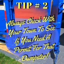 Weekly Dumpster Tips