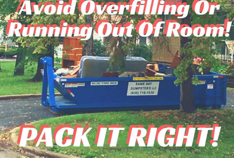 Avoid Overfill or Running Out of Room