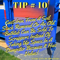 Weekly Dumpster Rental Tips