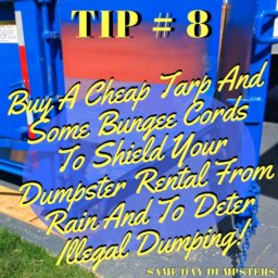 Same Day Dumpsters Tips