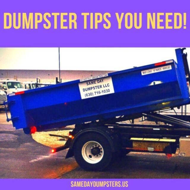 Same Day Dumpsters Rental Service in Burr Ridge, Illinois
