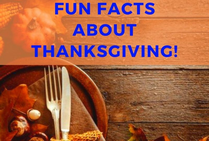 Fun Facts About Thanksgiving