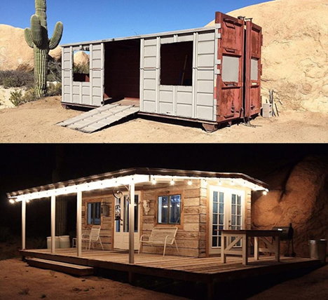 From Dumpster to Dream Home