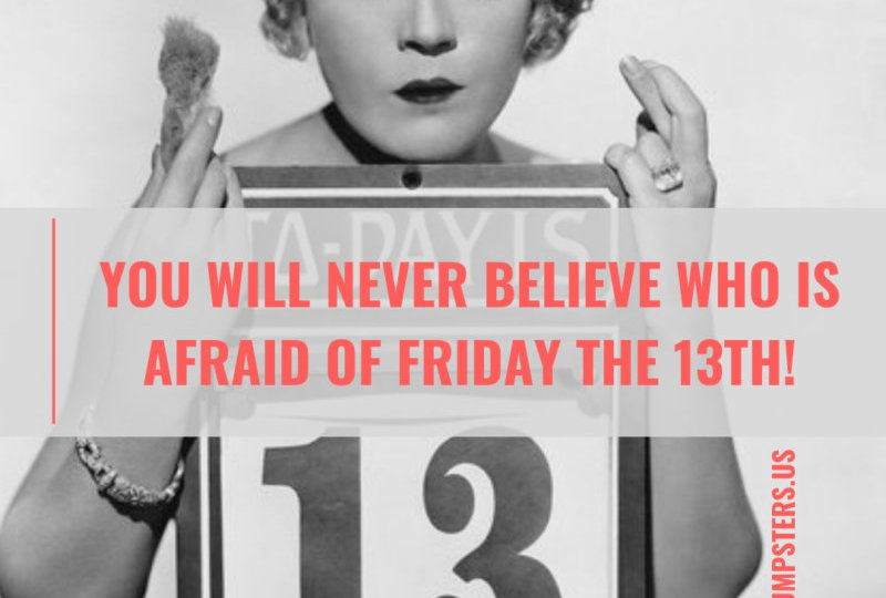 Who's Afraid of Friday the 13th?