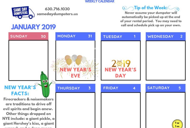 January 1st Template