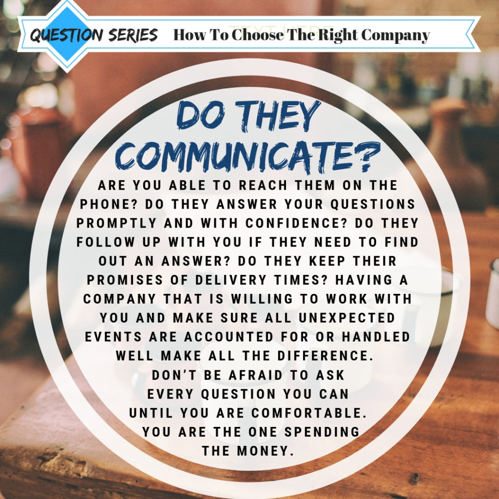 How To Choose The Right Company