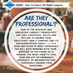 Question Series - Professional