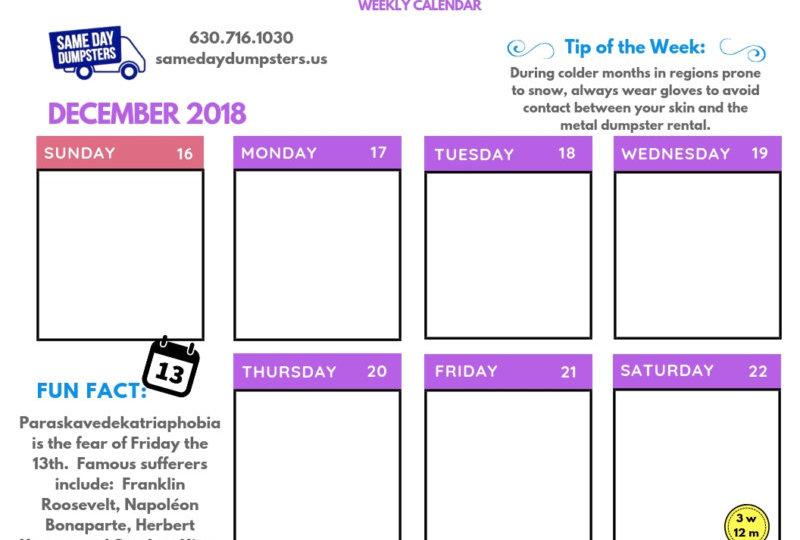 SDD 12-18 Week 3