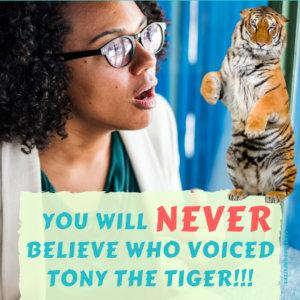 Who Voiced Tony the Tiger?