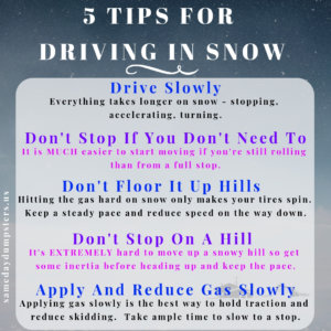 Driving Safely in Bad Weather