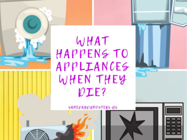 What Happens To Appliances When They Die?