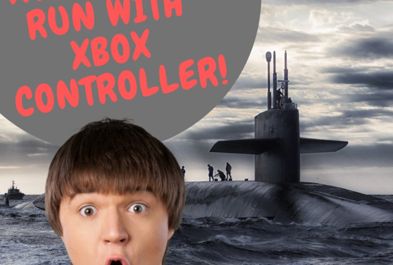 Attack Sub Run By XBox Controller