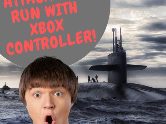 Attack Sub Run By XBox Controller