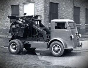 World's First Modern Dumpster