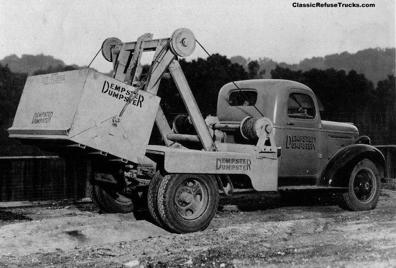The World's First Modern Dumpster