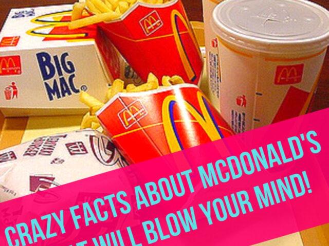 Weird McDonald's Facts