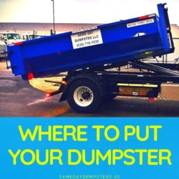 Best Place For A Dumpster Rental