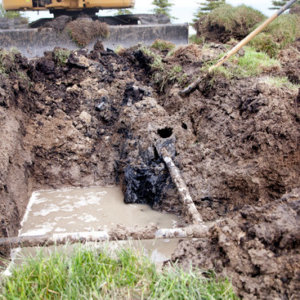 Never Put A Dumpster Over An Underground Septic System