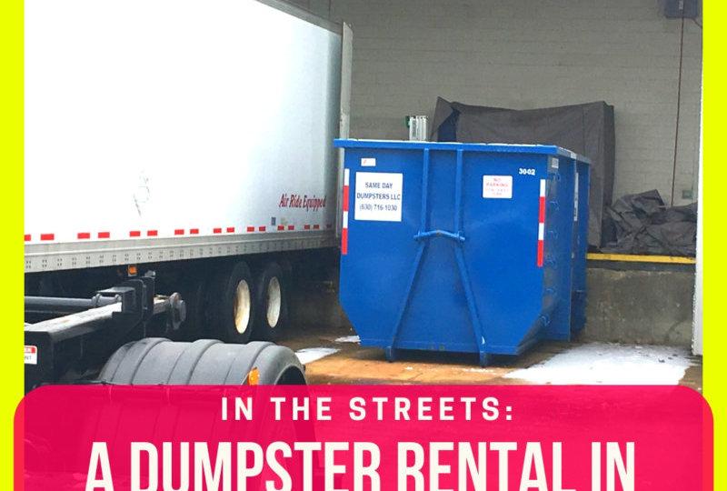 Bolingbrook Dumpster Rental