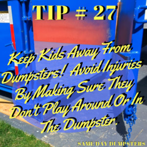 Tipping the Dumpster