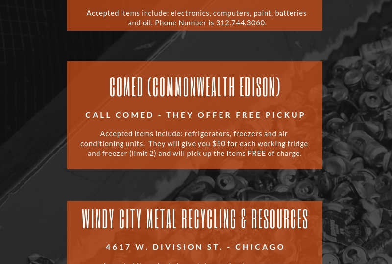 Recycling Centers In Chicagoland Area