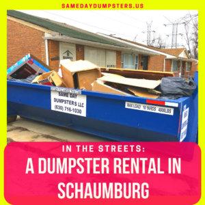 Schaumburg Dumpster Rentals