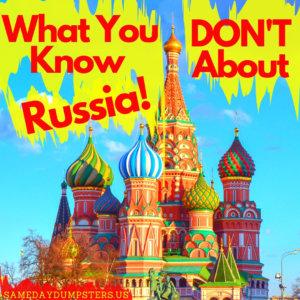 Fun Fact Friday - Russia Edition!