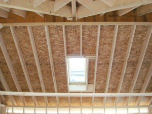 putting a skylight in a garage roof