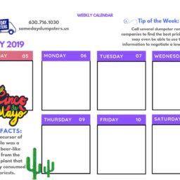 Weekly Calendars