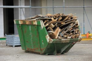 5 yard dumpster
