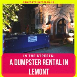Lemont Dumpster Rental Highlight