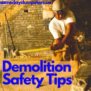 DIY Demo Safety Tips