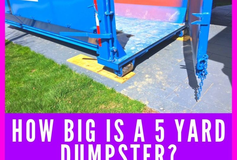 5 Yard Dumpster Rental Near Me