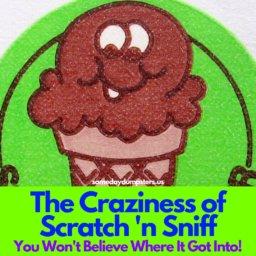 Retro Scratch 'n Sniff