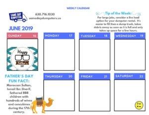 3rd Week of June