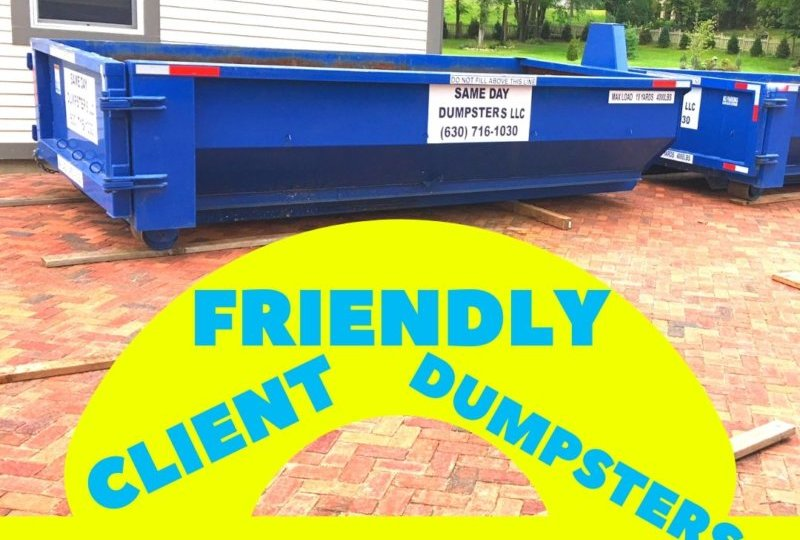 Client Friendly Dumpsters