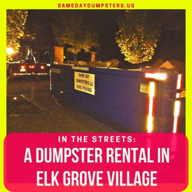 Elk Grove Village Dumpsters