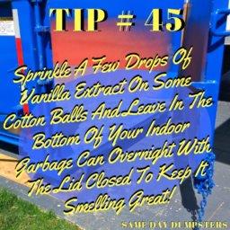 Dumpster Rental Tips