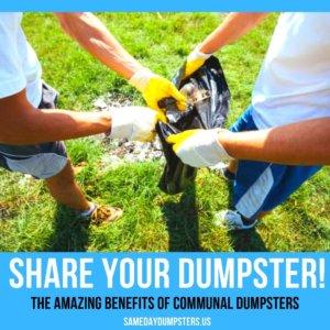 Sharing Dumpster Rentals
