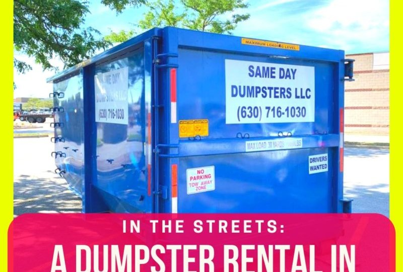 A Dumpster Rental In Chicago Ridge