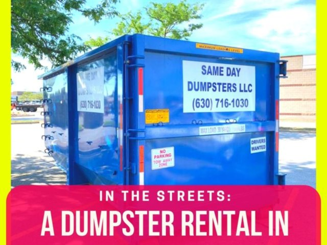 Chicago Ridge Dumpster Rental