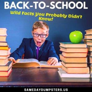 Fun Fact Friday School Edition