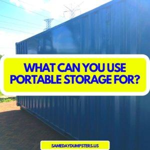 Same Day Storage