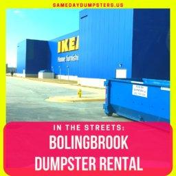 Dumpster Rental Bolingbrook