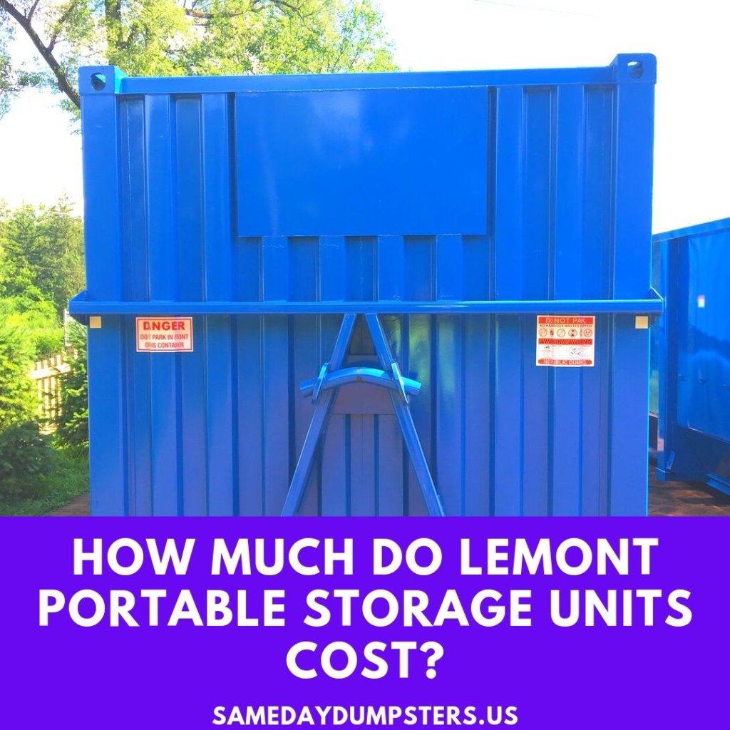 Lemont Storage Rentals