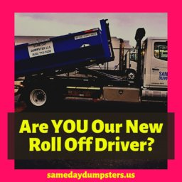 Roll Off Drivers Wanted
