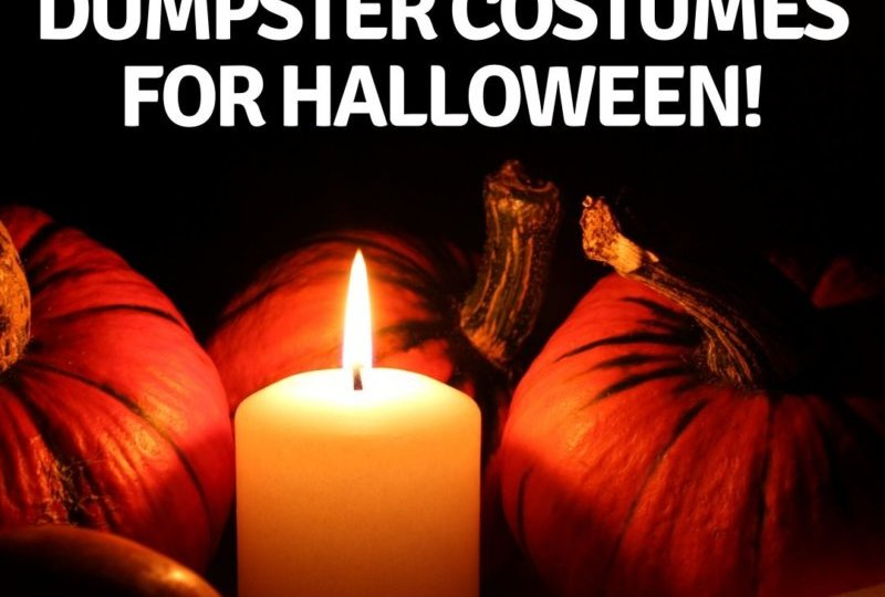 5 Amazing Dumpster Costumes For Halloween!