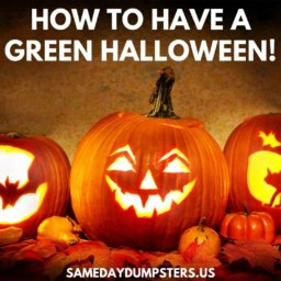 Eco-Friendly Halloween