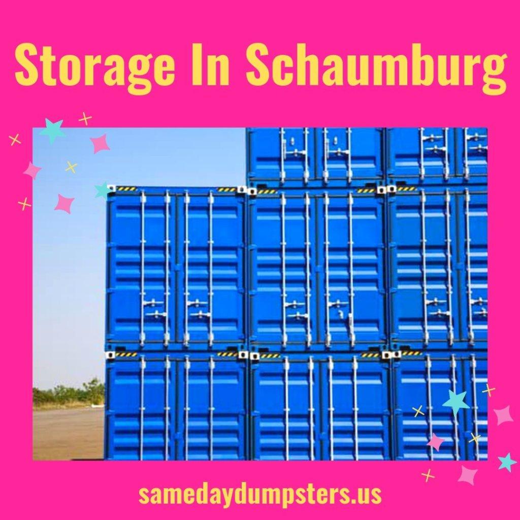 Schaumburg Storage Containers