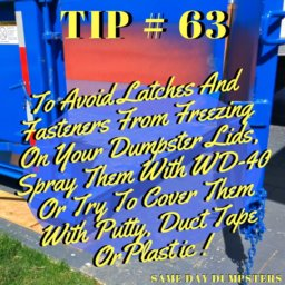 Dumpster Rental Tips